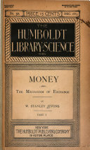 Money   the Mechanism of Exchange