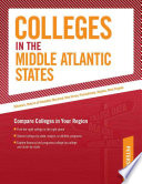 Colleges in the Middle Atlantic States Book