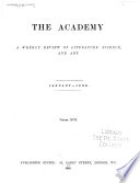 The Academy and Literature Book