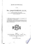 Travels and adventures of the Rev  Joseph Wolff