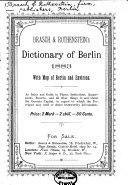 Brasch   Rothenstein s dictionary of Berlin  1883