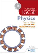 Books - Cam/Ie Igcse Study Guide Phys | ISBN 9781471859687