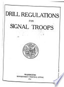 Drill Regulations for Signal Troops