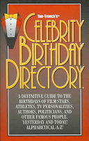 Celebrity Birthday Directory