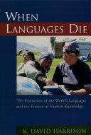 When Languages Die Pdf/ePub eBook