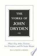 The Works of John Dryden, Volume XVI