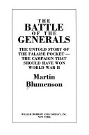 The Battle of the Generals Book PDF