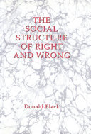 Pdf The Social Structure of Right and Wrong Telecharger