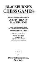 Blackburne s Chess Games