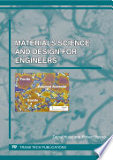Materials Science and Design for Engineers Book