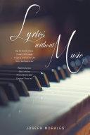Lyrics Without Music Book