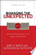 Managing the Unexpected, Resilient Performance in an Age of Uncertainty by Karl E. Weick,Kathleen M. Sutcliffe PDF