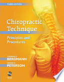 Chiropractic Technique   E Book Book