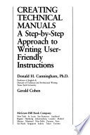 Creating Technical Manuals