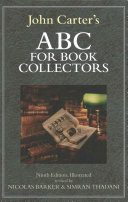 John Carter's ABC for Book Collectors
