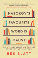 Nabokov s Favourite Word Is Mauve