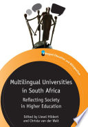 Multilingual Universities In South Africa Book PDF