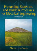 Probability  Statistics  and Random Processes for Electrical Engineering Book