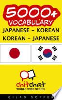 5000  Japanese   Korean Korean   Japanese Vocabulary