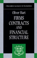 Firms  Contracts  and Financial Structure