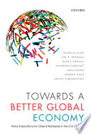 Towards A Better Global Economy Book PDF