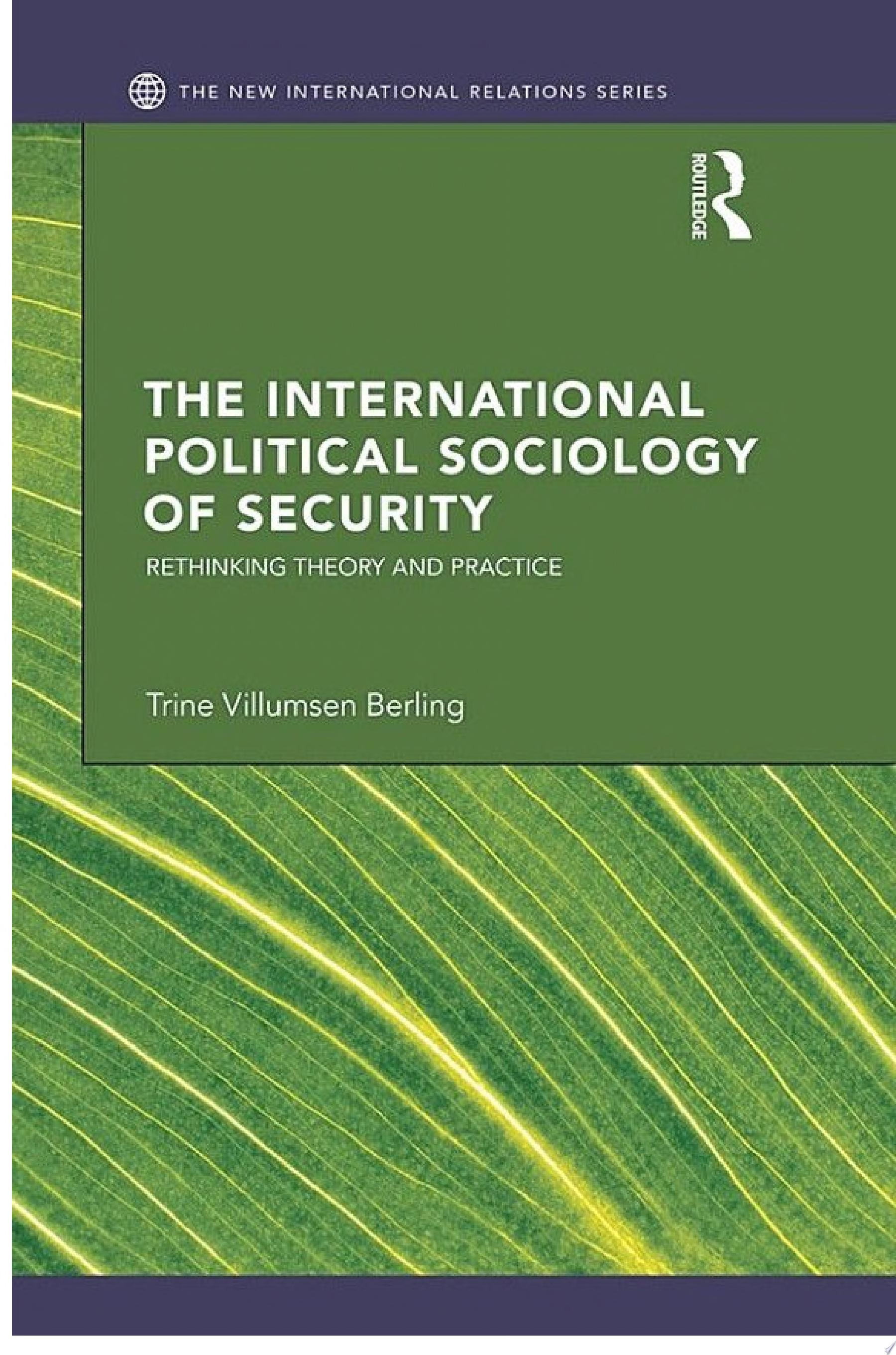 The International Political Sociology of Security