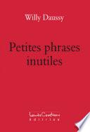 Petites phrases inutiles