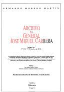 Archivo del general José Miguel Carrera