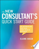 The New Consultant s Quick Start Guide Book