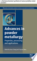 Advances in powder metallurgy
