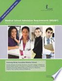 Medical School Admission Requirements (MSAR), 2012-2013