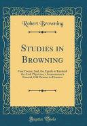 Studies in Browning