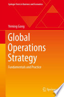Global Operations Strategy