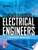 Standard Handbook For Electrical Engineers Sixteenth Edition PDF