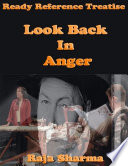 Ready Reference Treatise: Look Back In Anger