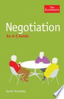 The Economist: Negotiation: An A-Z Guide