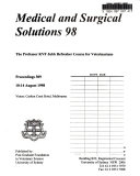 Medical and Surgical Solutions 98
