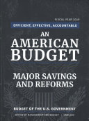 Major Savings and Reforms 2019