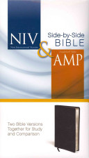 NIV and Amplified Side by Side Bible
