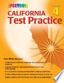 Spectrum California Test Practice, Grade 4