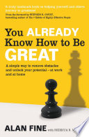 You Already Know How To Be Great Book