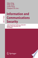 Information and Communication Security Book