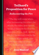 Teilhard S Proposition For Peace