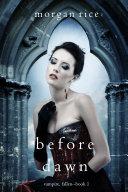 Before Dawn (Vampire, Fallen—Book 1) Pdf/ePub eBook