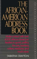 The African American Address Book