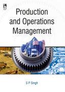 Production and Operations Management Pdf/ePub eBook