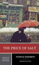 The Price of Salt   a Norton Critical Edition