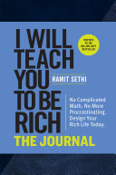 I Will Teach You to Be Rich  The Journal Book