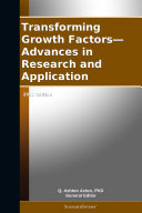 Pdf Transforming Growth Factors—Advances in Research and Application: 2012 Edition Telecharger