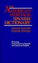 American Heritage Spanish Dictionary